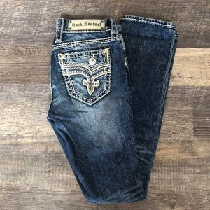Rock Revival Straight Leg Jeans 26